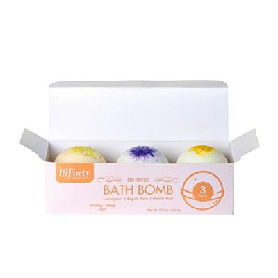 Custom Bath Bomb Packaging Boxes