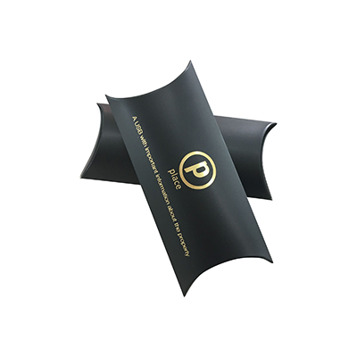 Custom Luxury Pillow Packaging Boxes