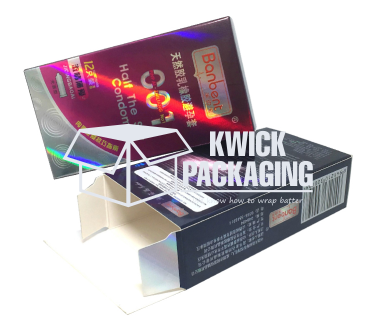 Custom Printed Metalized Packaging Boxes Wholesale