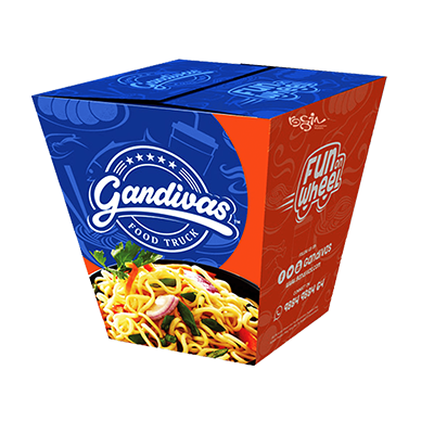 Custom Noodle Packaging Boxes